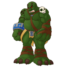 Darkam Onikaiju the Troll Ogre Giant (TOG)