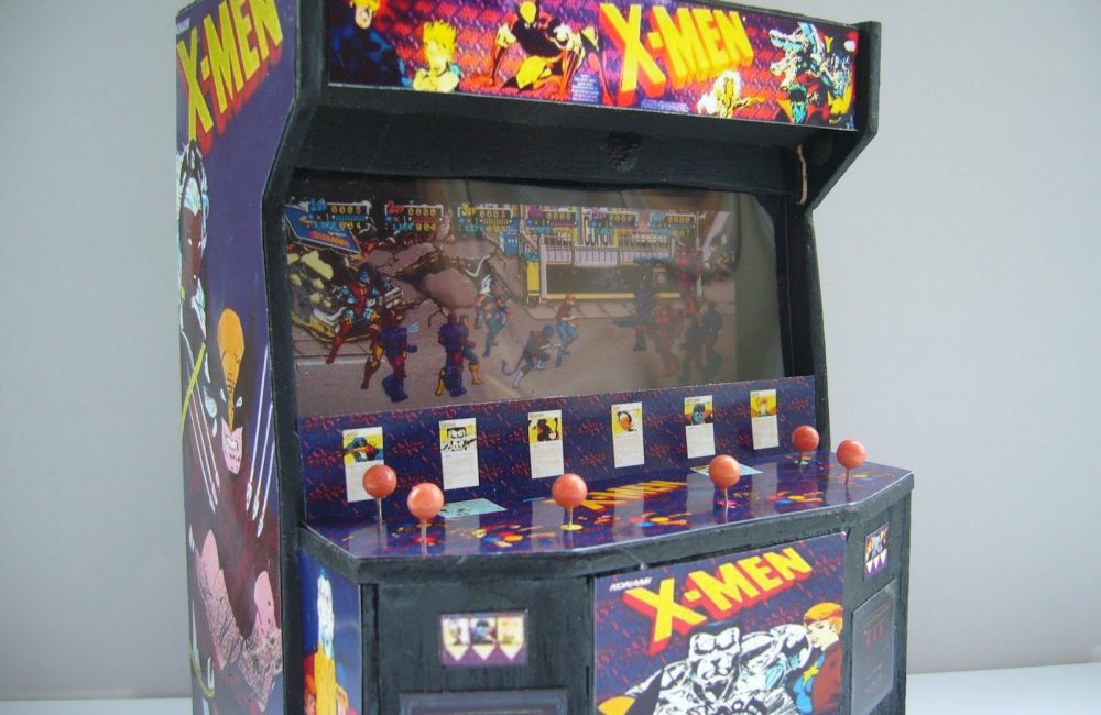 X-Men arcade 6 players