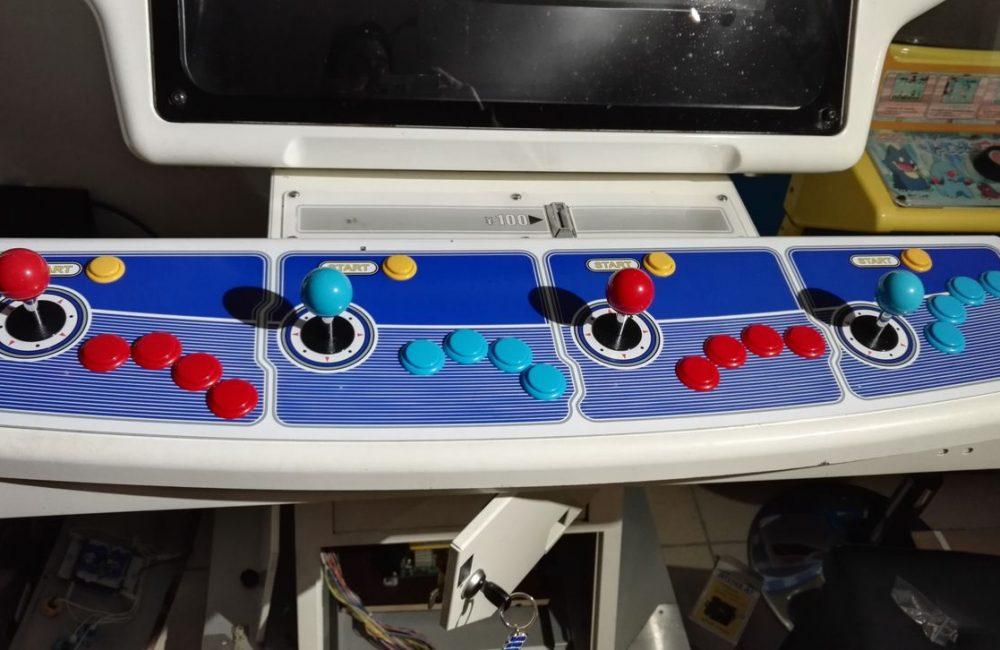 Borne Arcade Sega Swing 4 players